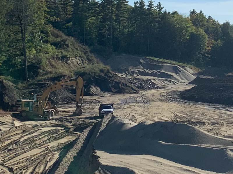 Dirt pit