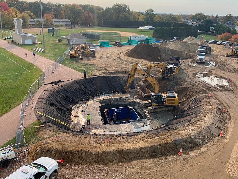 Winooski School Project Excavating